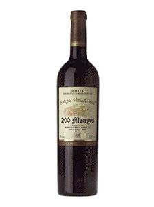 200 Monges Tinto Gran Reserva 2001