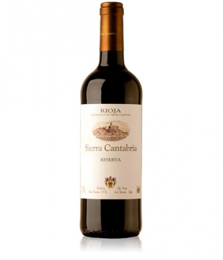 sierra cantabria tinto reserva 2011