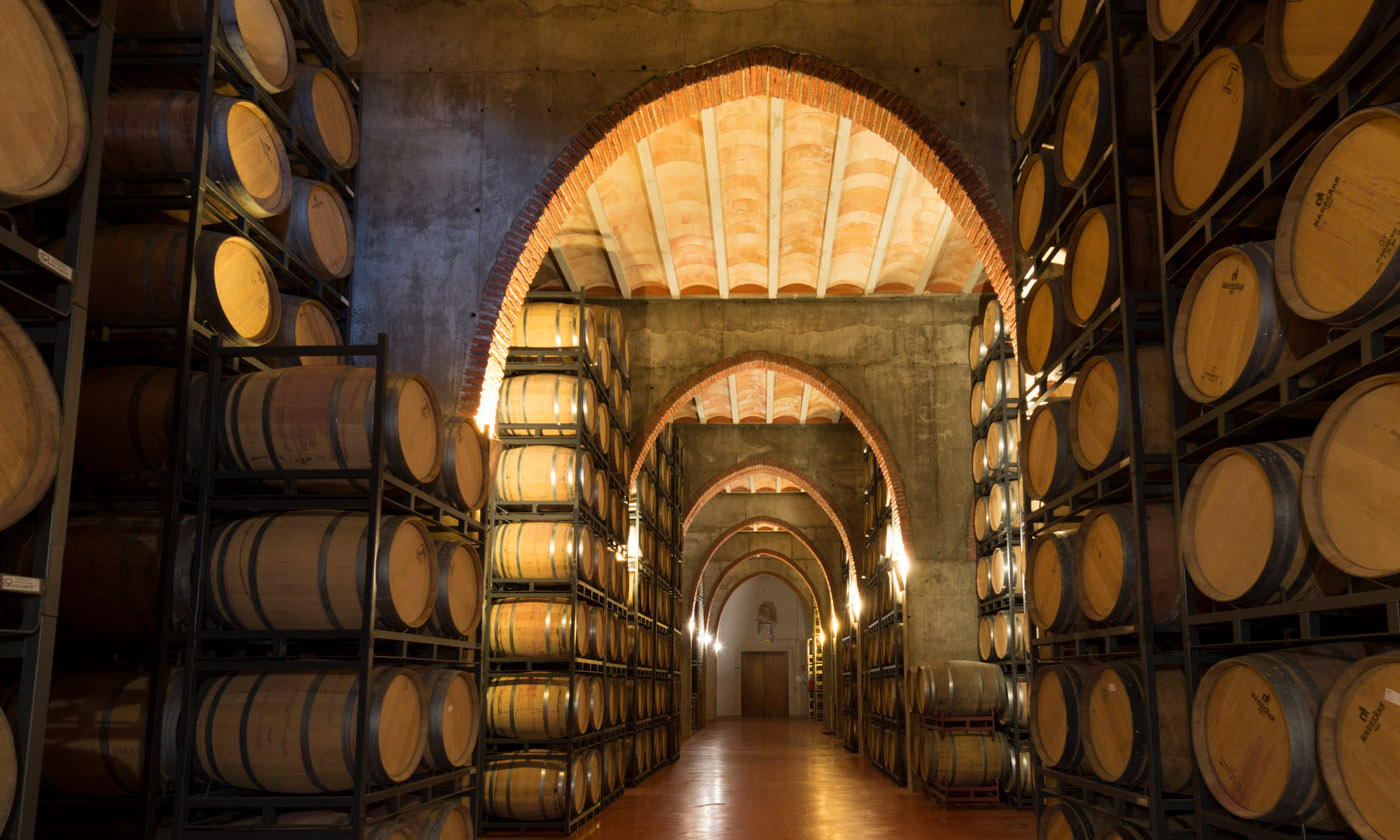 cavas benito escudero barrel room