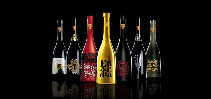 estuche de vino siete pecados capitales