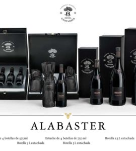 Alabaster Estuche de 4 botellas de 375ml