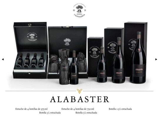 Alabaster Botella 1.5 L estuchada