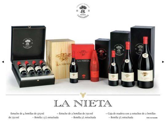 La Nieta Tinto Estuche de dos Botellas 750 ml.