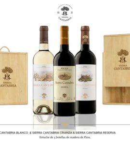 Sierra Cantabria Blanco+Tinto Crianza+Tinto Reserva