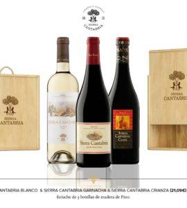 Sierra Cantabria Garnacha+Sierra Cuvee+Blanco