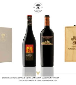 Sierra Cantabria Cuvee+Sierra Cantabria Colección privada