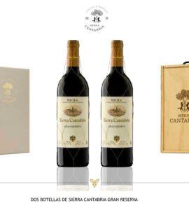 Sierra Cantabria Gran Reserva Estuche 2 botellas