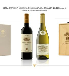 Sierra Cantabria Reserva-Organza Blanco