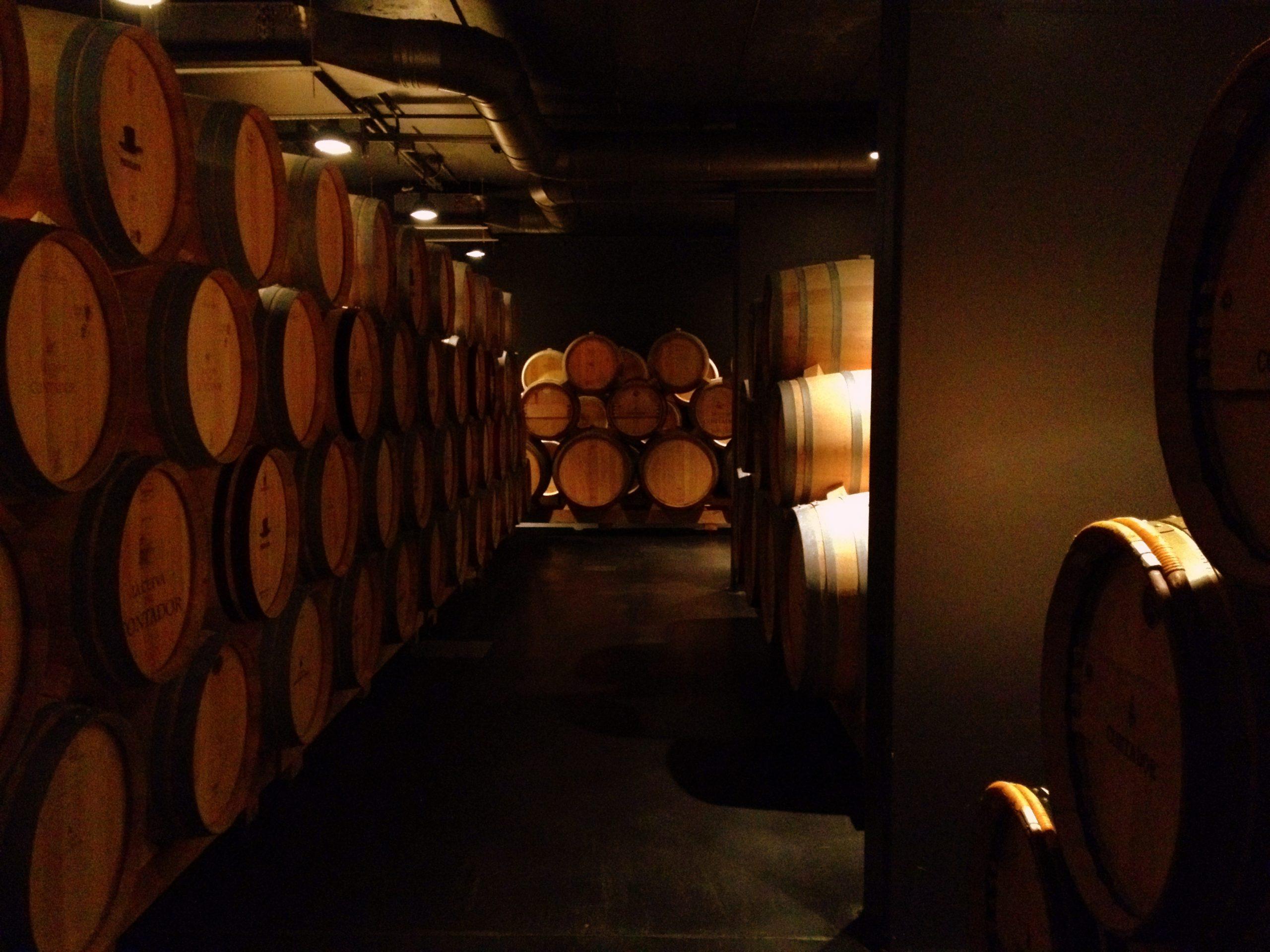 cellars counter barrel room