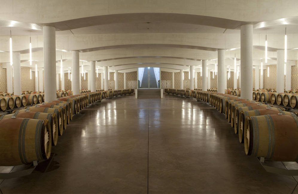 Château Cheval Blanc sla de barricas