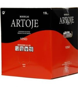 bag in box red Artoje especial 15 liters