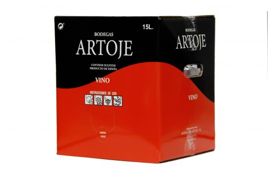 bag in box rouge Artoje especial 15 litres