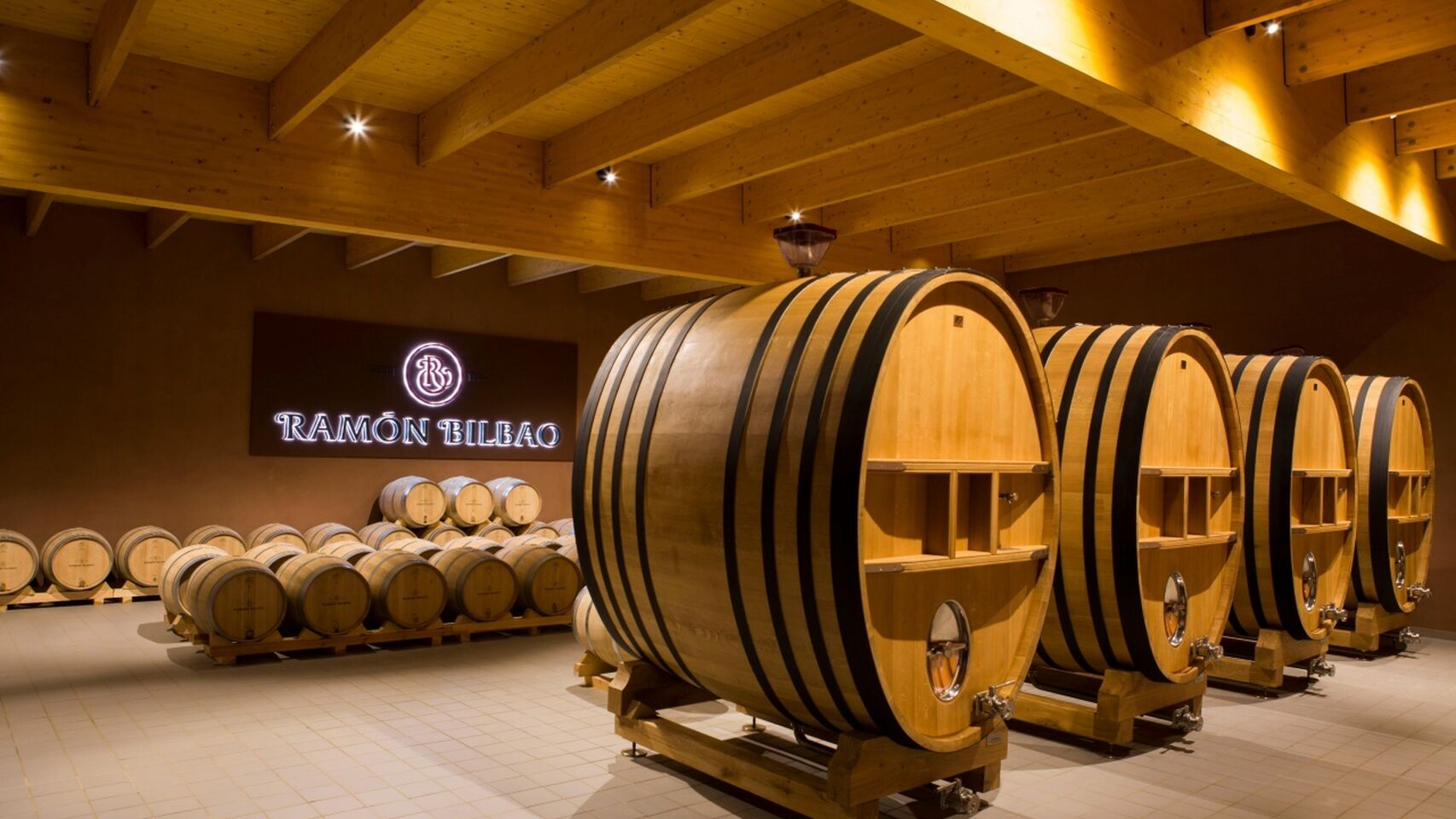 ramon bilbao barrel room
