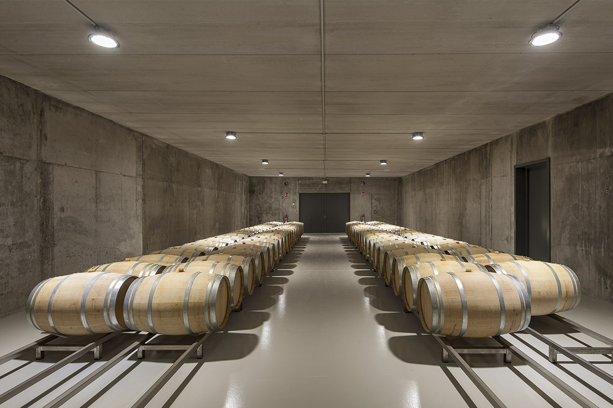 bodegas el sacramento barrel room