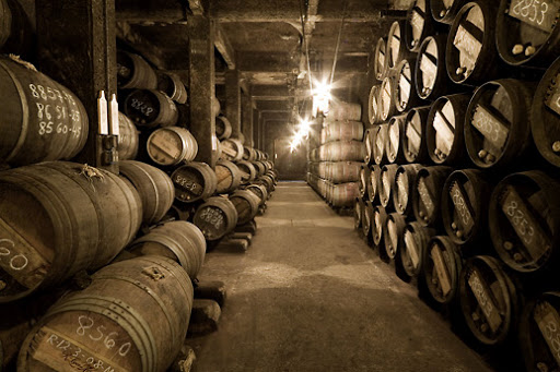 lopez de heredia barrel room