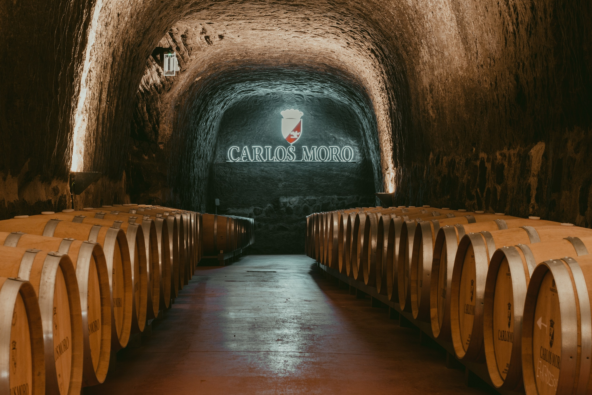 carlos moro barrel room