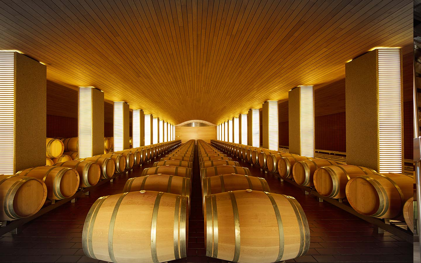 vega sicilia barrel room